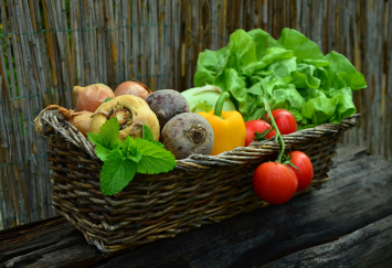 Produce (Veggie) Basket - Patchwork Gardens
