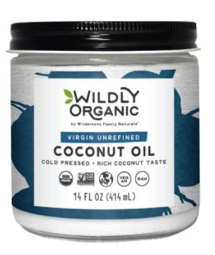 Virgin Unrefined Coconut Oil - 14 oz