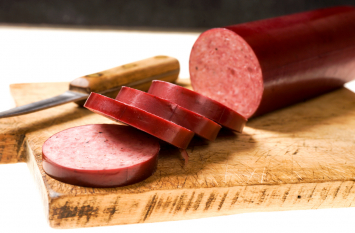 Beef Summer Sausage Log