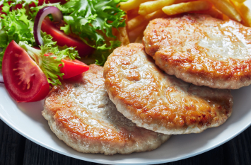 Seasoned Chicken Patties