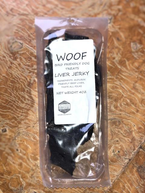 WOOF-Grass-fed Grass Finished Beef-Audubon Certified Dog Treats