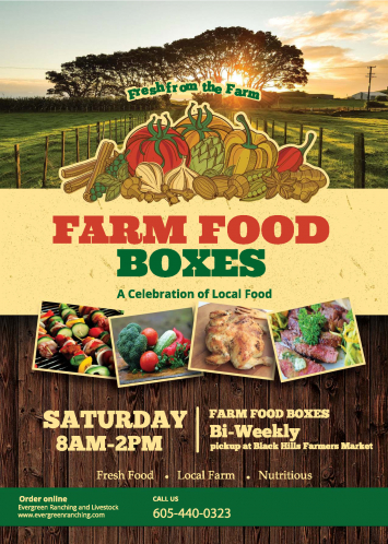 Farm Fresh Food Box/Bag-Sat. July 27th Delivery
