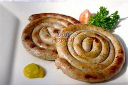 Fresh (not Smoked) German Sausage