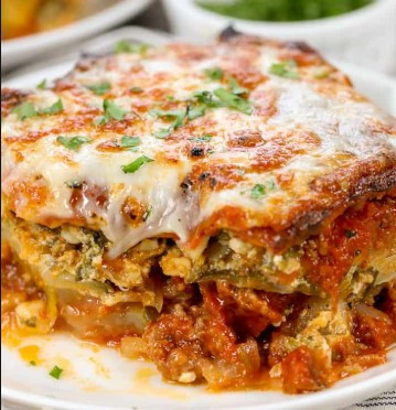 Zucchini Lasagna with Eden Pure Beef