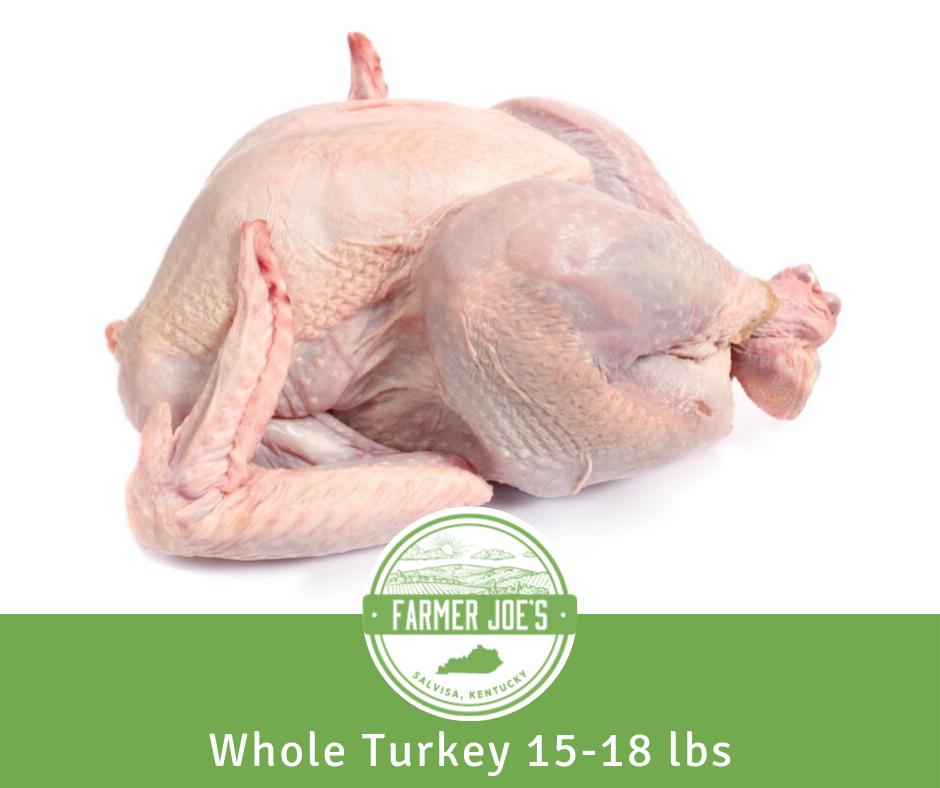 Broad Breast Turkey (Whole) 15 -18 lbs