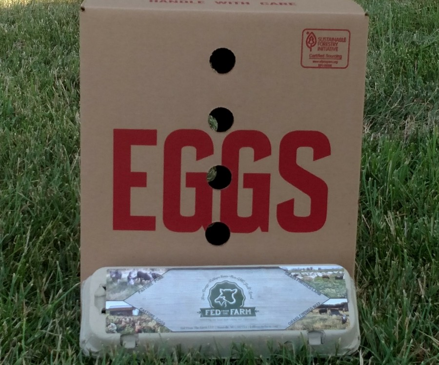 15 Dozen Egg Bundle - Cartons