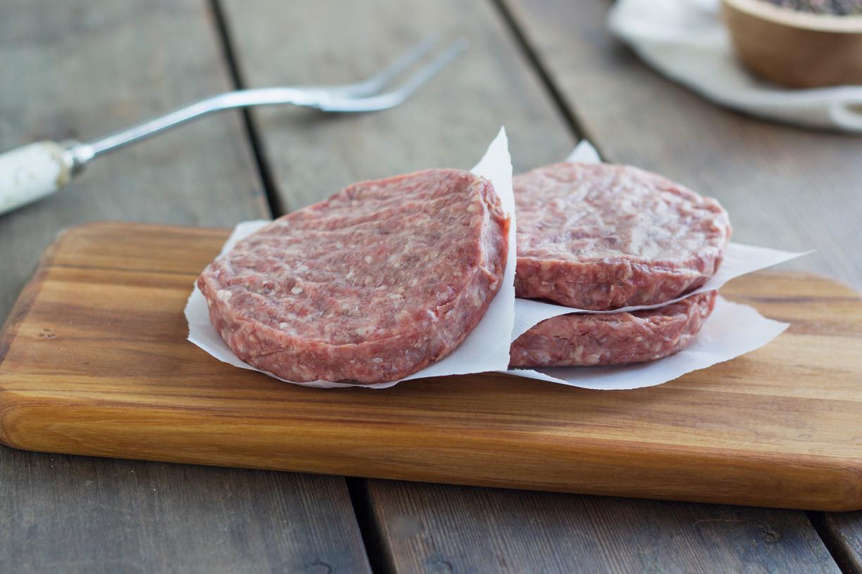 1/3 lb. Ground Beef Patties
