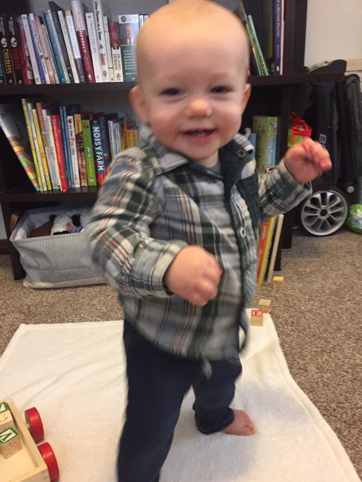 January Newsletter - Judah's First Steps