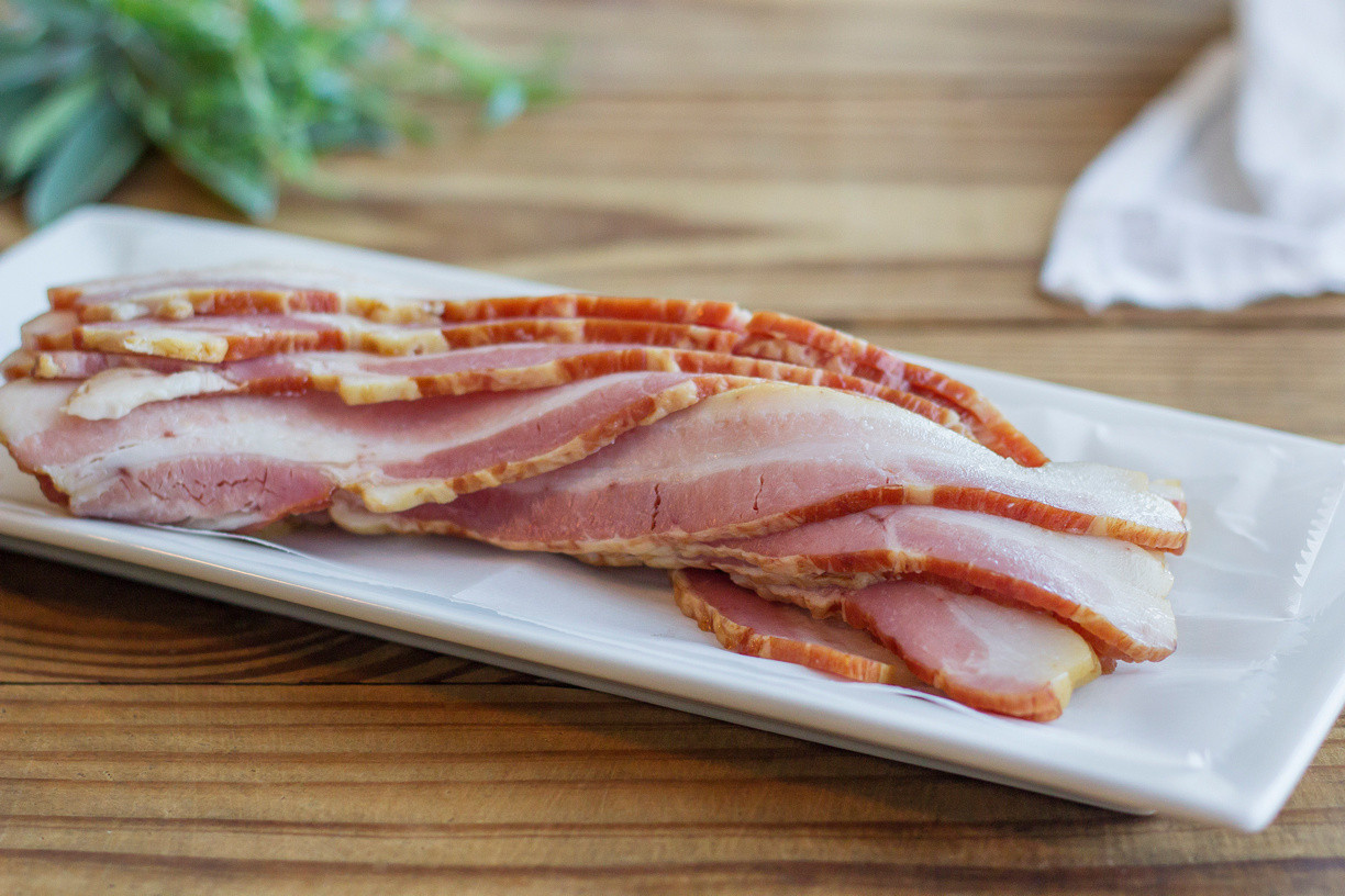 Bacon - with sugar - No nitrates (Please Click And Read Full Ingredient List Before Purchasing)
