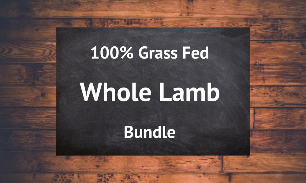 Whole Lamb - 30lb. Bundle