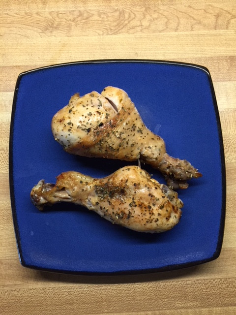 Lemon Garlic Roasted Drumsticks
