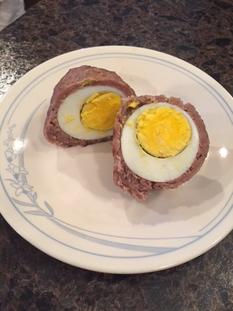 Sausage Scotch Eggs