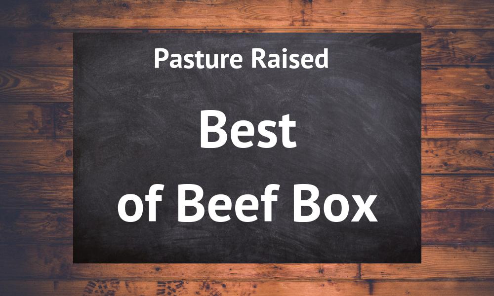 Best of Beef Box - Summer 2020