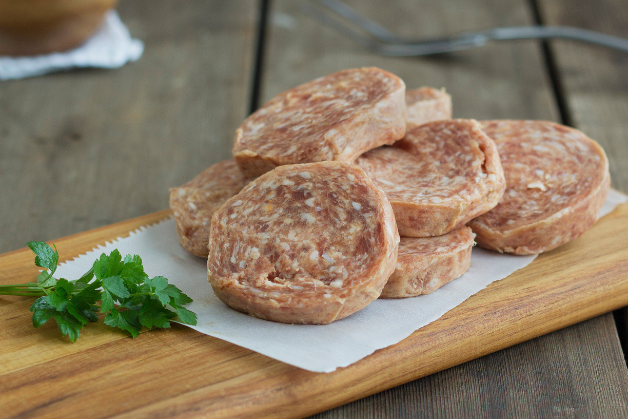 Breakfast Sausage Patties - With Sage, Sugar Free