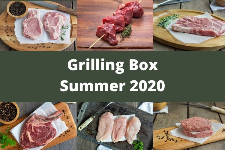 Grilling Box Summer 2020 - Please Read Full Ingredient List on Bacon Infused Burgers Before Ordering