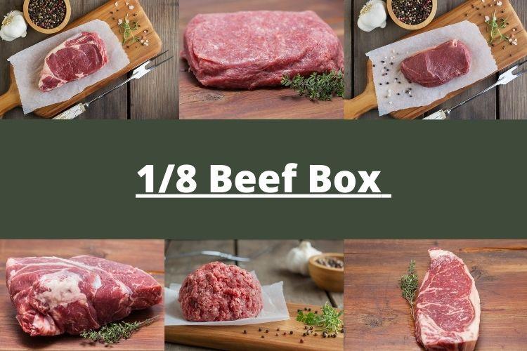 1/8 Beef Box - Summer 2021 2.0