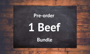 Whole Beef Bundle - Preorder 1st of December 2018 Delivery