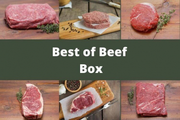 Best of Beef Box - Summer 2020 2.0 - Please Read Full Ingredient List on Bacon Infused Burgers Before Ordering