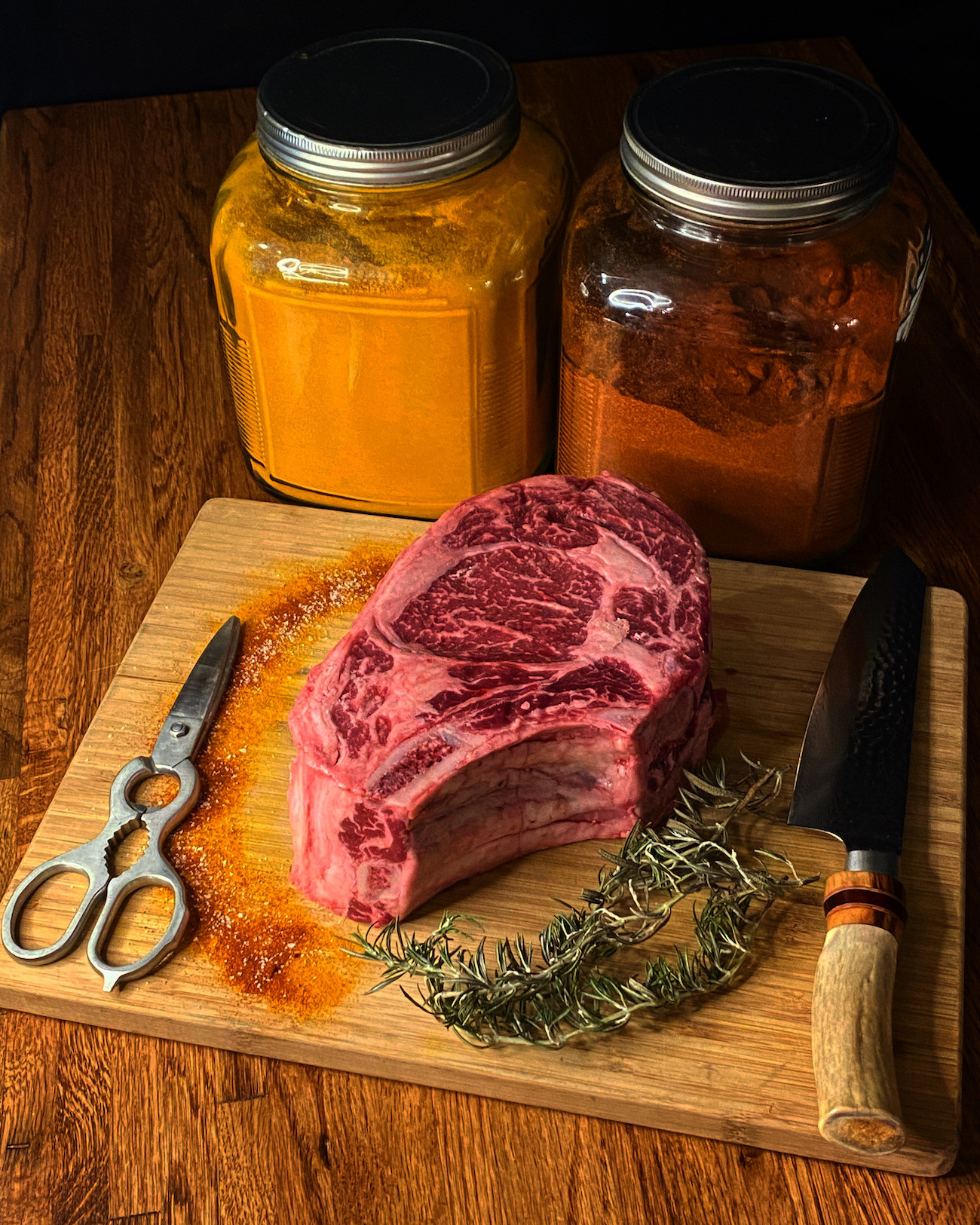 3lb Beef Prime Rib Roast Bone-In Whole