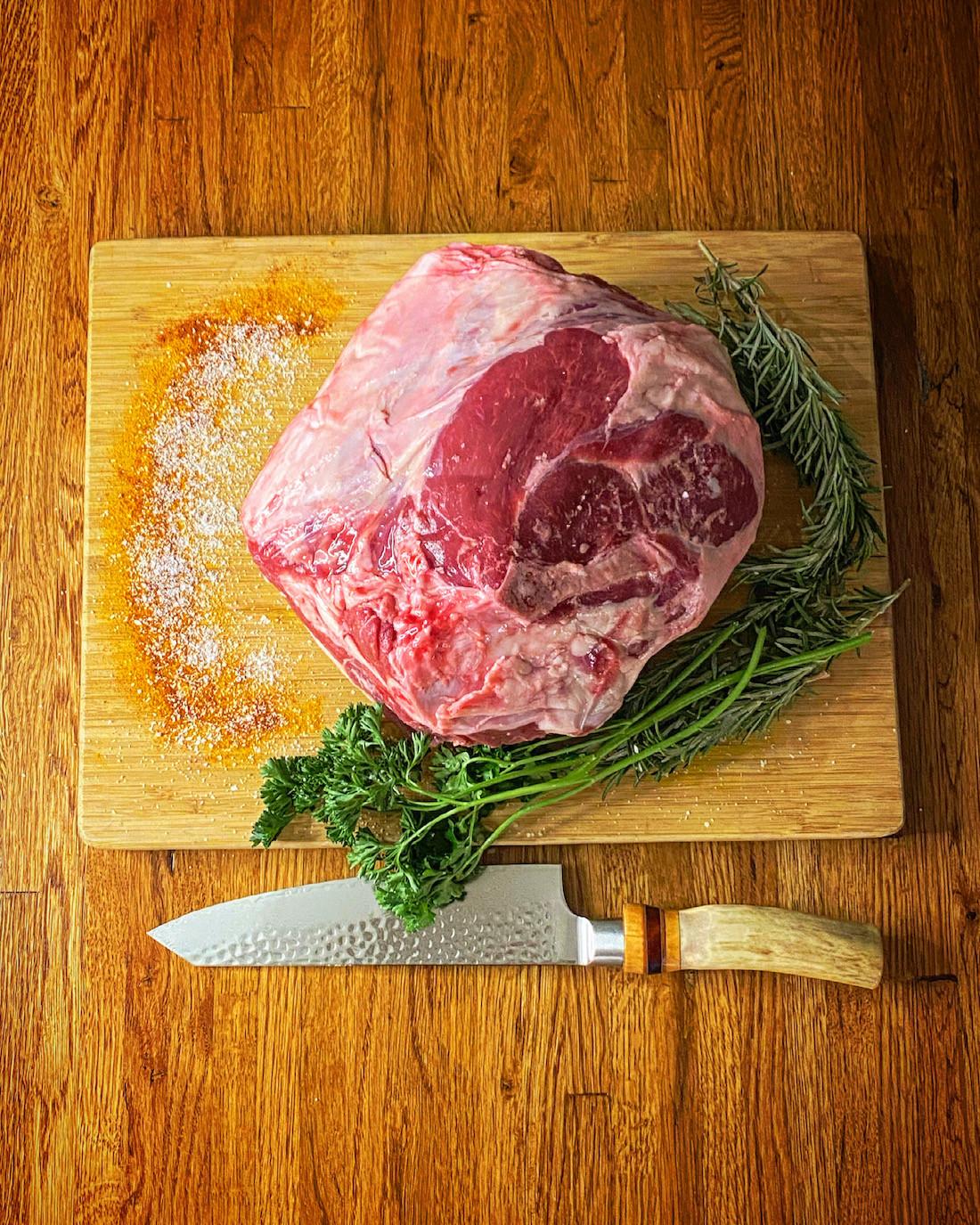 Thanksgiving Leg of Lamb Bone-In