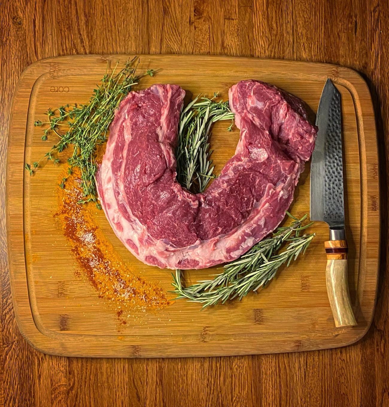 Thanksgiving Lamb Loin Roast