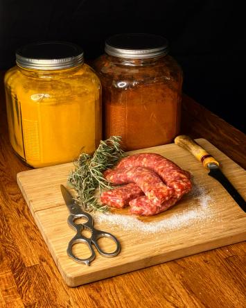 Pork Hot Sausage Grill Links