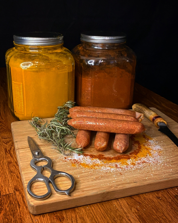 Chicken Sausage Grill (cooked)