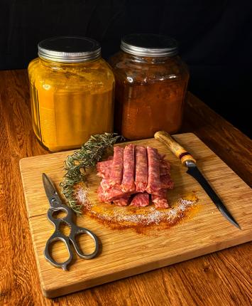 Pork Hot Sausage Breakfast Links
