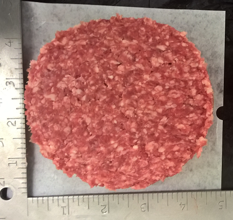 Hamburger Patties - 1/2 lb - Frozen