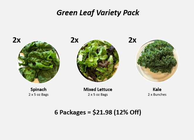 Green Leaf Variety Pack