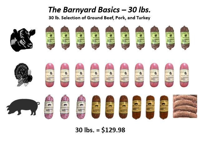 The Barnyard Basics - 30 lbs