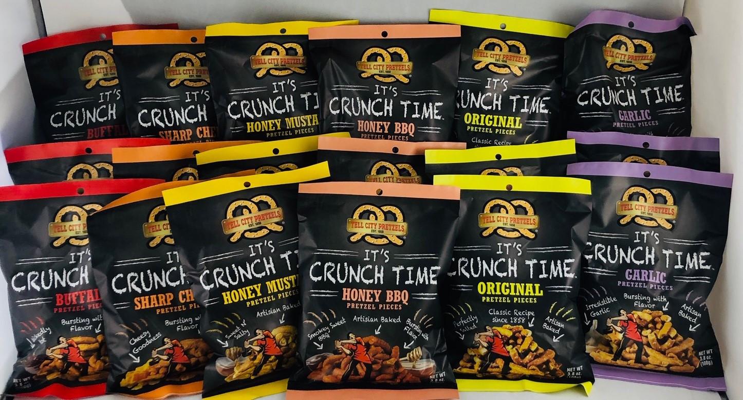 Pretzel Variety Pack - 18 Snack Bags