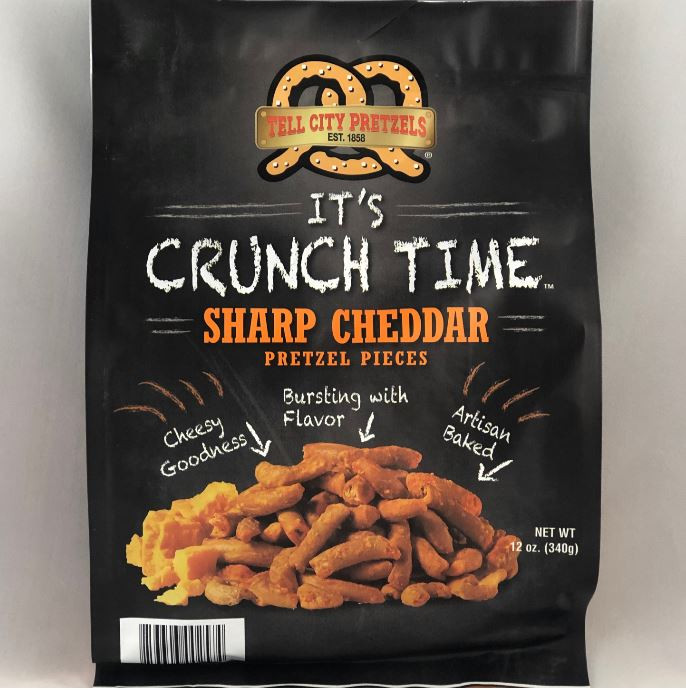 Cheddar Pretzel Pieces - 12 oz Bag