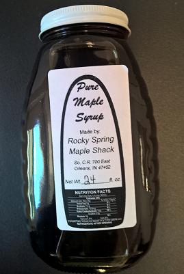Maple Syrup 2 lb Jar
