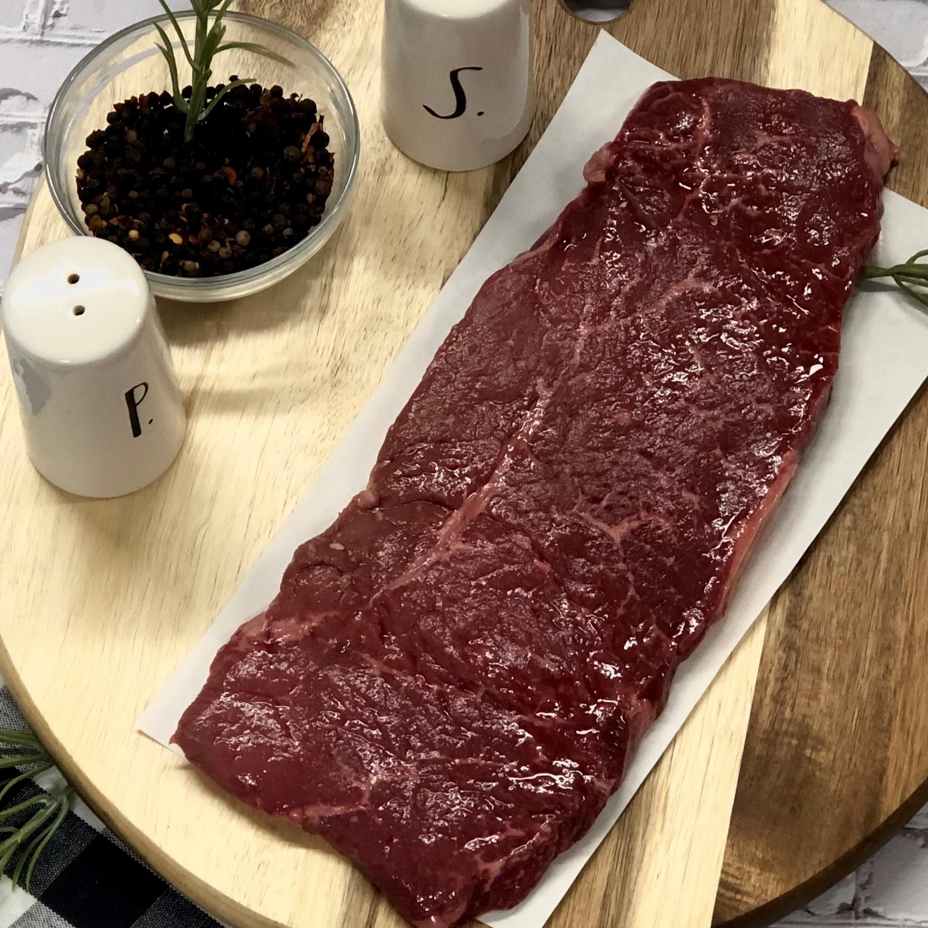 Round Steak -12 oz -  Frozen
