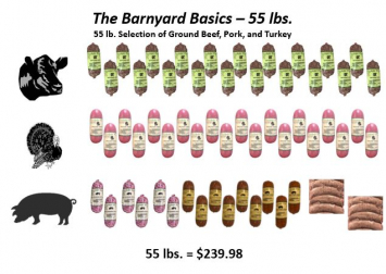 The Barnyard Basics - 55 lbs