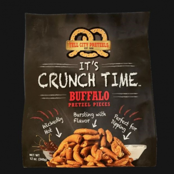Buffalo Pretzel Pieces - 12 oz Bag