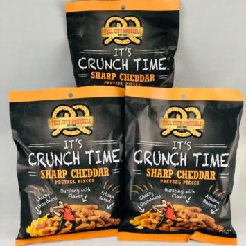 Cheddar Pretzel Pieces - 3 Snack Bags