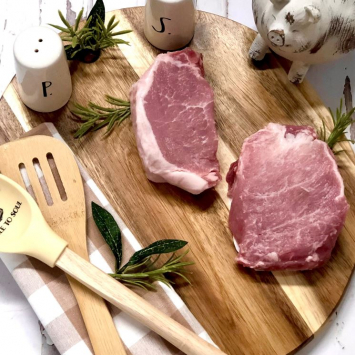 Pork Chop Boneless - 8 oz