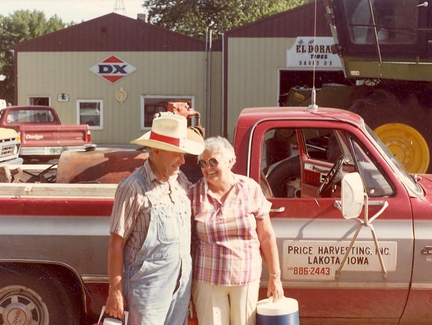 Grandma and Grandpa...circa 1982