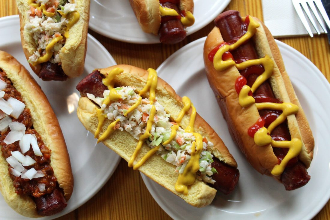 House made hot dogs