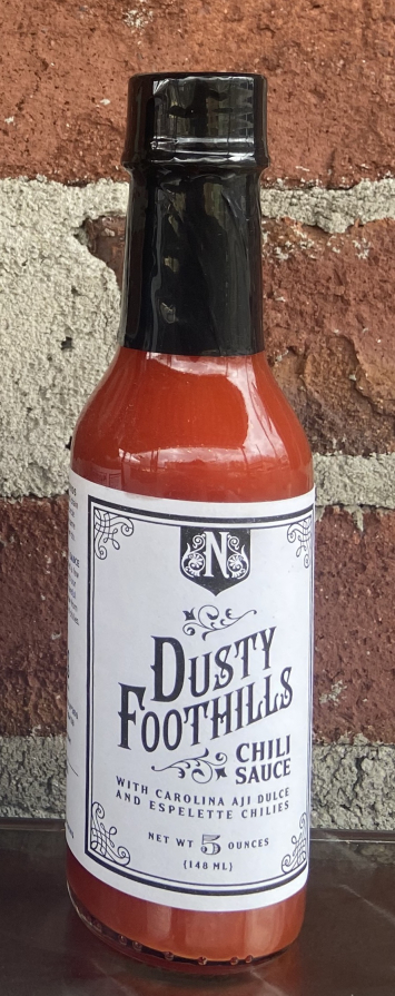 Dusty Foothills Hot Sauce