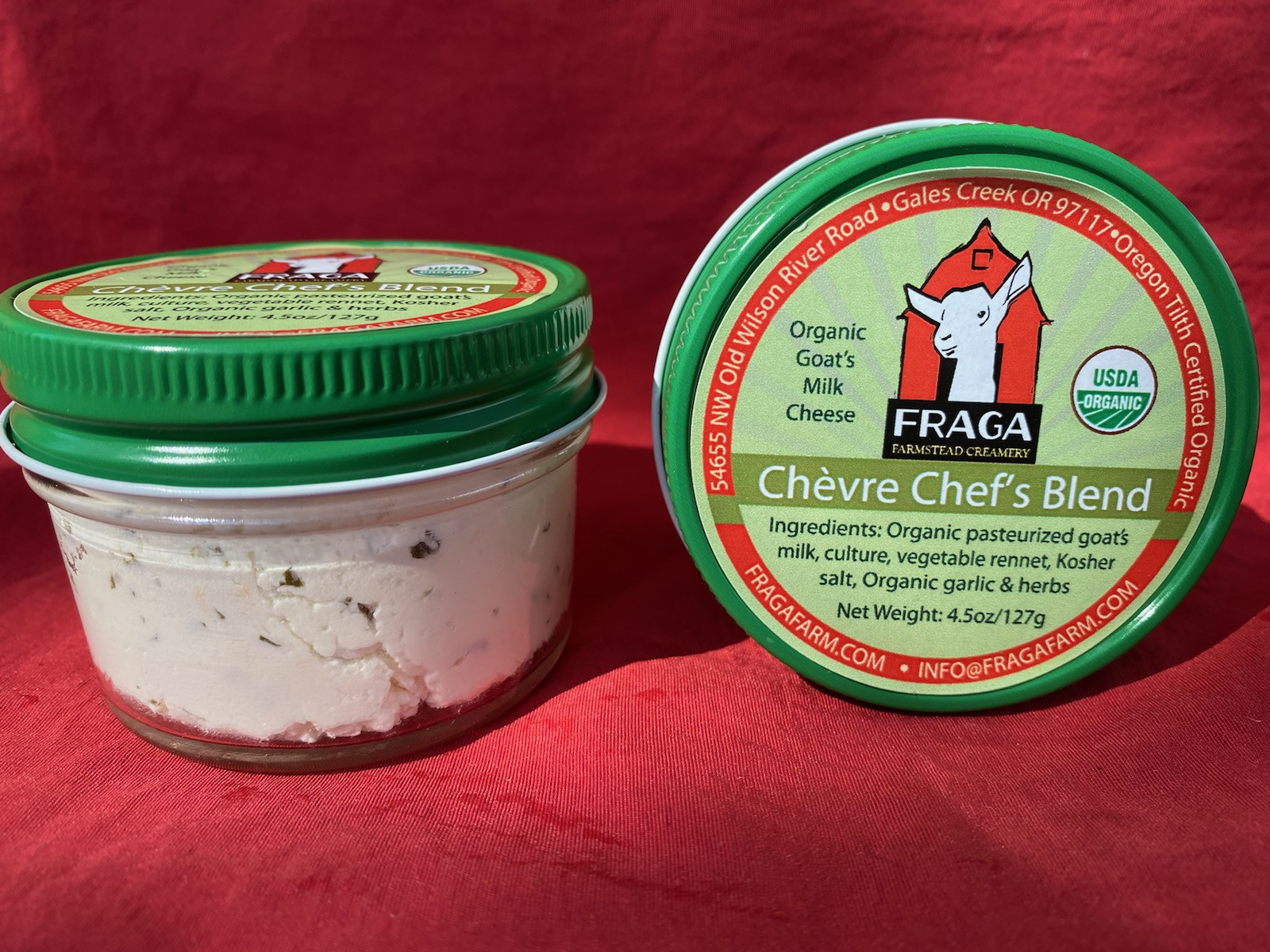 Organic Chevre - Chef's Blend