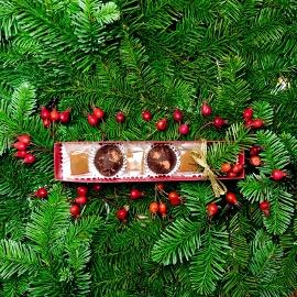 Chocolate Truffle and Caramel Gift Box
