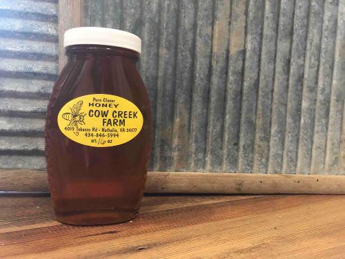 Wildflower Honey 16 oz, dark