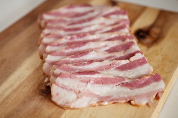 Bacon, Uncured / AKA Smoked Sliced Pork Belly