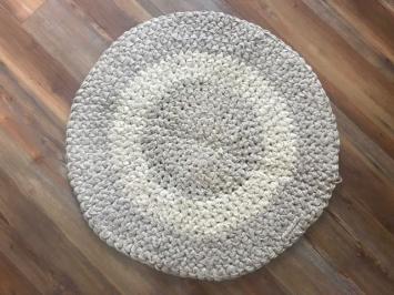 Sand Dunes Crochet Rug