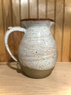 Speckled Pottery Pitcher