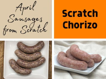 April Sausages of the Month