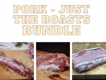 Just the Roasts Pork Bundle